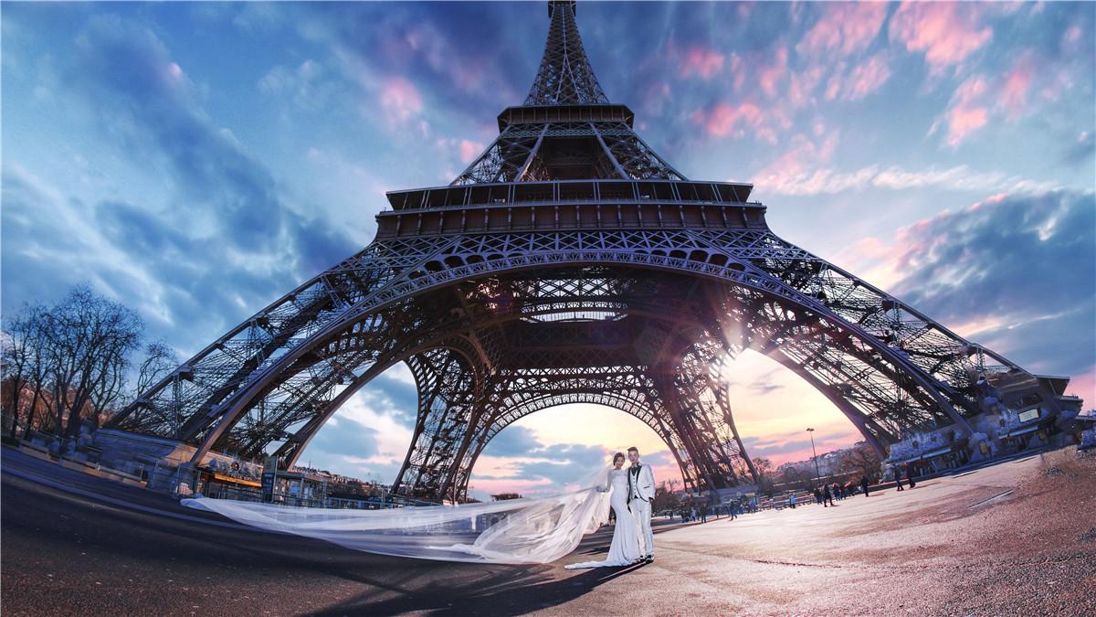 法國巴黎海外婚紗